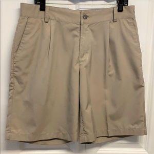 Adidas Clima Lite Shorts Size 32 Tan